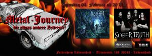 Metal Journey Banner Sober Truth NEW