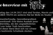 Live Interview metal only sober truth