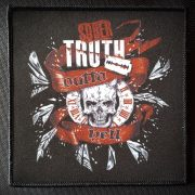 Patch Outta Hell Skull Sober Truth