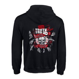 Outta Hell Skull Zipper - Sober Truth Merch