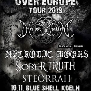 Herbstschatten Tour - Blue Shell - Sober Truth live 10.11.19