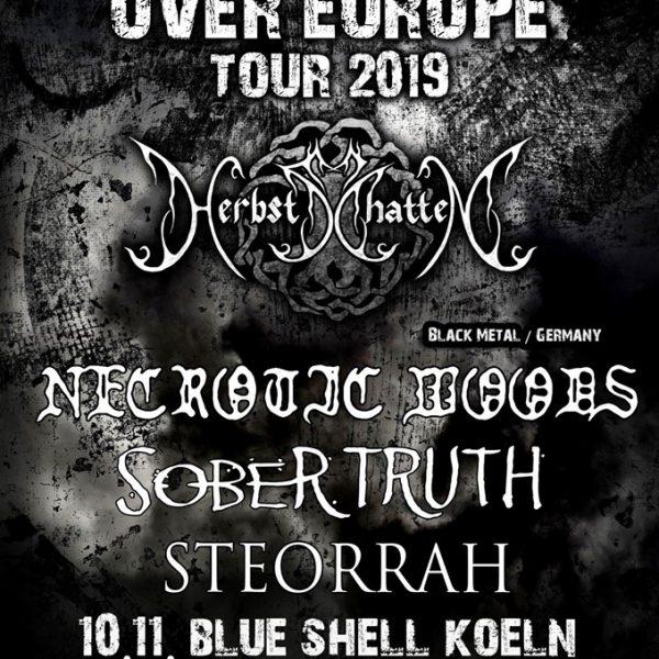 Herbstschatten Tour - Blue Shell - Sober Truth live 10.11.19