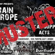Muster Tickets Black Rain over Europe