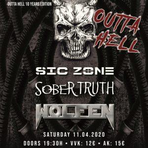 Eintrittskarte Sober Truth Live - 11.04.20 - Seite A